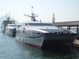 広島経由高速船「スーパージェット」