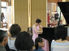 高橋和彦さん(マンドリン)と夏川由紀乃さん(ピアノ)のデュオ