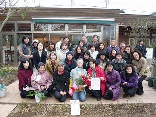 「関の花」薔薇植付セレモニー