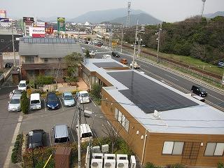 下関・木の家づくり展示館 PV搭載