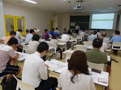 2015下関未来大学で講話