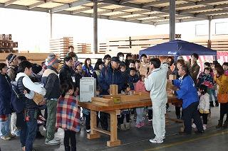 拡大版エコビルドツアー「津江祭り」