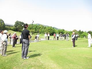 東北大震災チャリティー ゴルフ大会