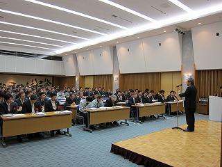 協力業者向け事業計画発表会