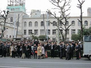 東北・太平洋沖地震(東京にて)